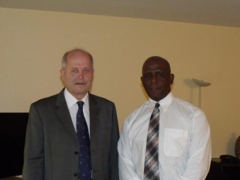 Les Présidents de la CDPI & du CROGMG.